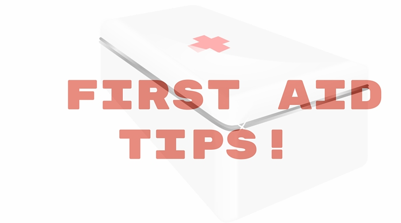 5 First Aid Tips You Should be Familiar With