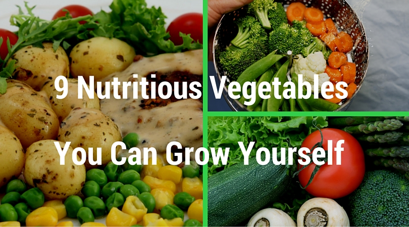 9 Nutritious Vegetables You Can Grow Yourself