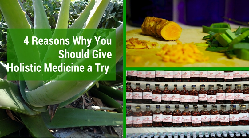 4 Reasons Why You Should Give Holistic Medicine a Try