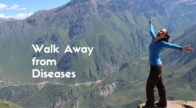 Walk Away from Disease – 6 Benefits of Walking Regularly