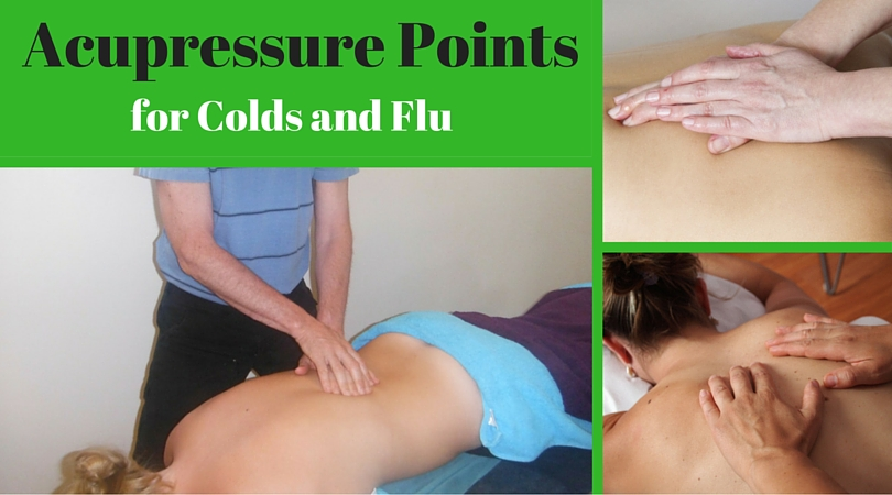 Acupressure Points for Colds and Flu